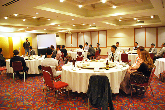 名刺交換会を開催(20190622)